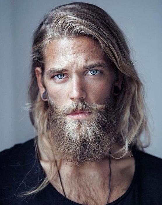 frizuri barbati par lung 2017