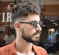 tunsori par scurt barbati