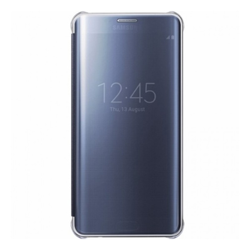 book-clear-view-samsung-pentru-samsung-galaxy-s6-edge-plus-bleumarin