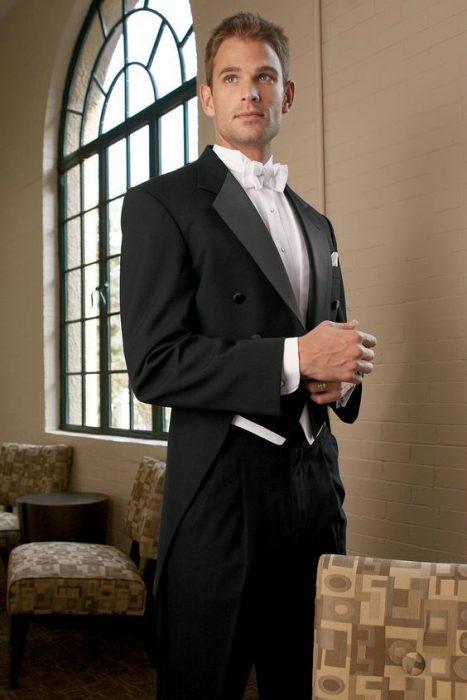 costum papion alb
