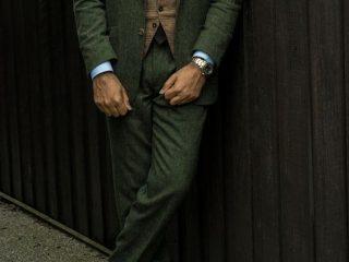 costum kaki britanic