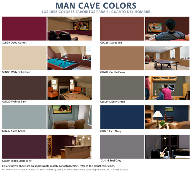 Man Room Painting Colors