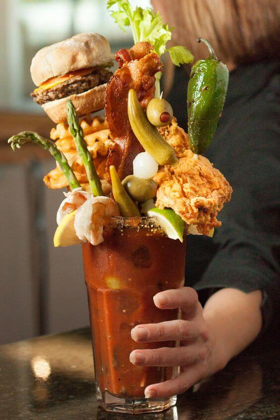 crazy bloody mary