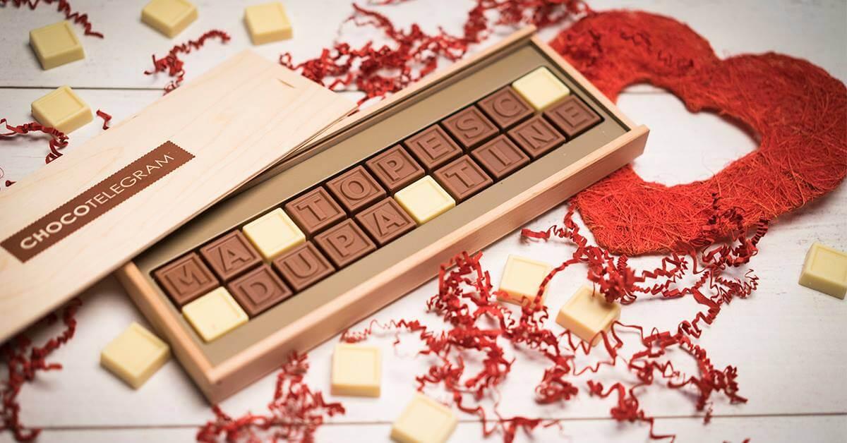 8 martie ciocolata