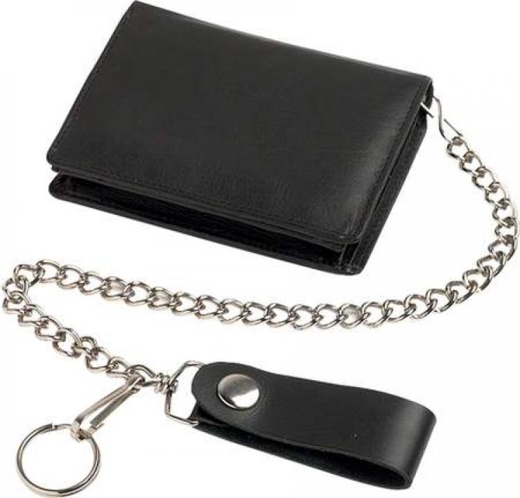 portofel din piele cu lant 0 750
