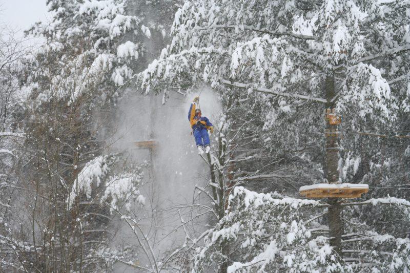 parc de aventura Escalada